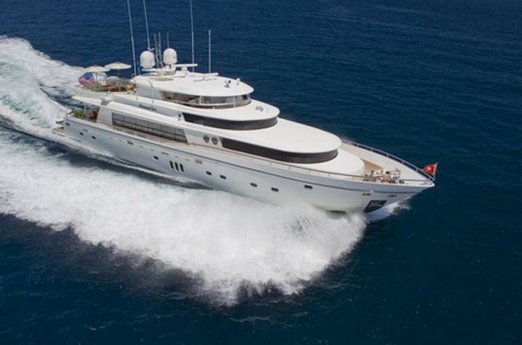 Luxury yacht Johnson 103' Caribbean charter based in Virgin Islands features 4 cabins, excellent crew, vast selection of watertoys and entertainment systems