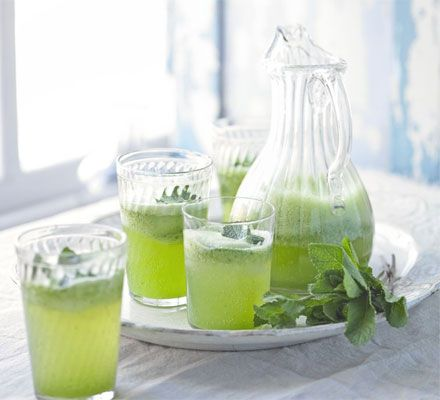 Cucumber & elderflower spritzer. Cool off this summer with a light, refreshing cocktail made with fresh seasonal ingredients.