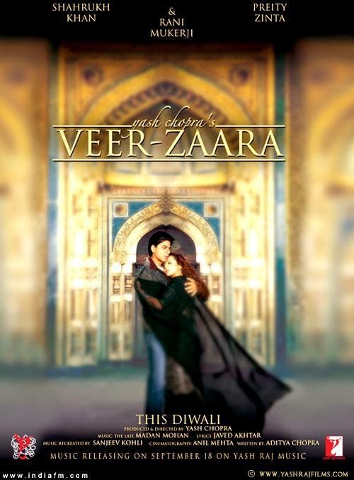 Veer-Zaara (2004) India - Shahruhk Khan