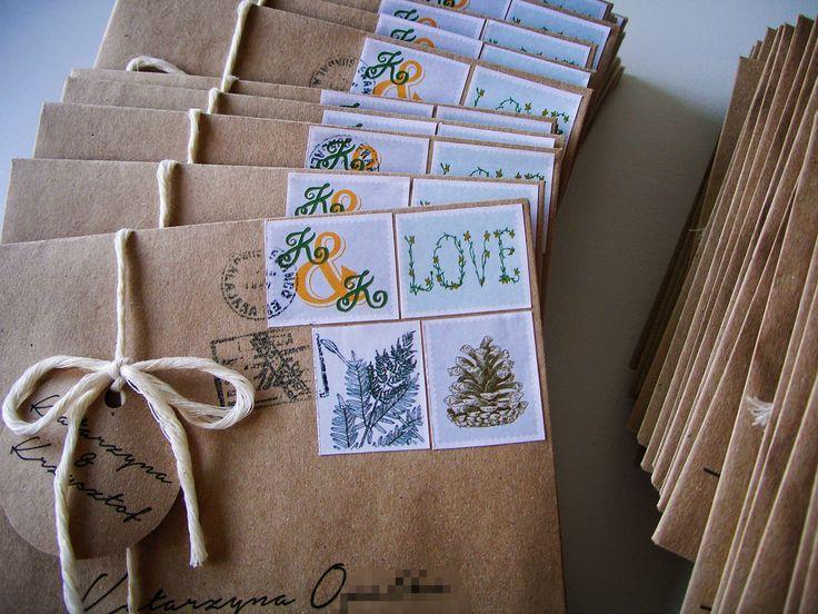 NATURAL wedding invitations by AKURATNIE kwiaty   www.akuratnie.com.pl www.facebook.com/akuratnie.kwiaty www.instagram.com/akuratnie.dw