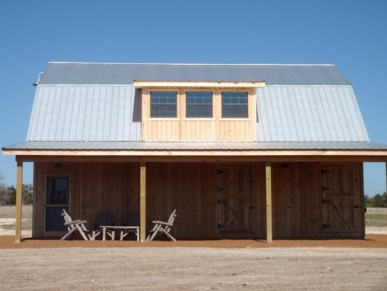105 best gambrel barn with apartment images on pinterest for Gambrel metal homes