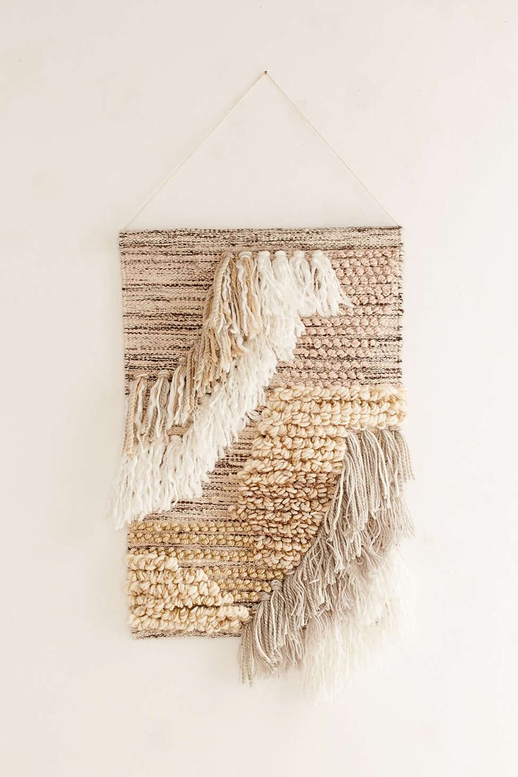 how to make tapestry wall hanging