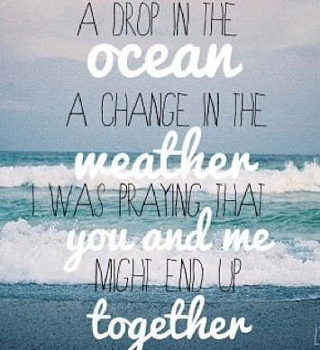 Javier Colon - A Drop In The Ocean Lyrics | MetroLyrics