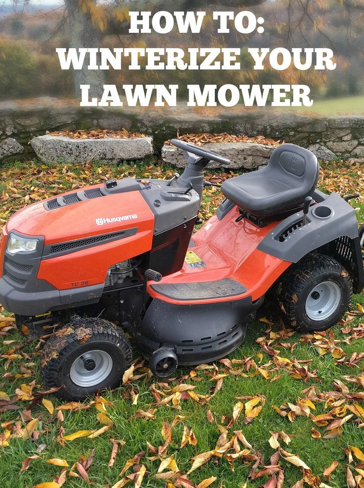 Learn how to winterize your lawn mower before the freezing temperatures set in!