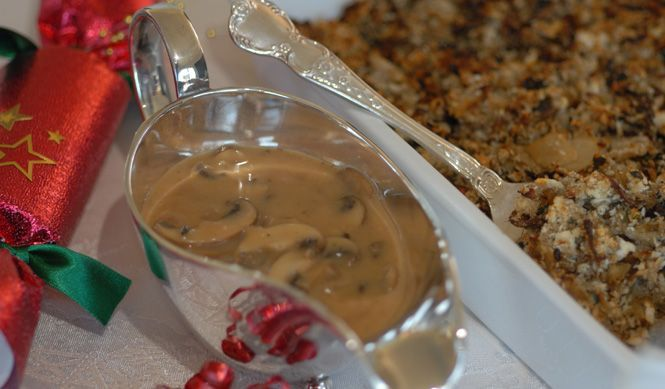 Champagne Mushroom Sauce