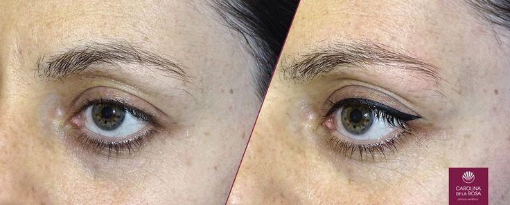 Hoy os mostramos una #micropigmentación de ojos (o #eyeliner). ¿Qué os parece el resultado?  También aprovechamos para anunciar el nuevo horario de verano.  Durante el mes de agosto:  Abrimos: L-V de 10 a 18 horas Sábados de 09 a 14 horas  Cerramos: Del 8 al 15, ambos incluidos.  Más info en: http://caroldelarosa.com/micropigme…/micropigmentacion-ojos/
