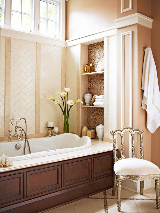17 best images about bathroom tile on pinterest for Master bathrooms without bathtubs