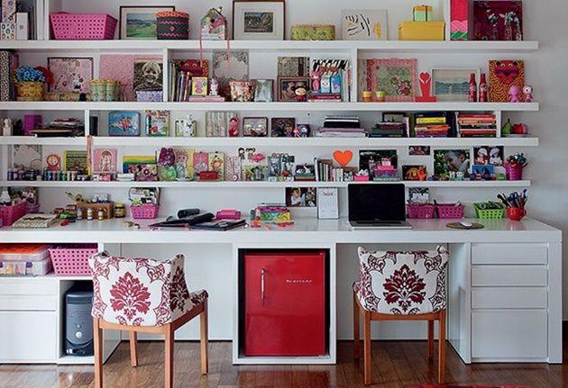 Inspirações para escritórios e ateliês em casa - Blog do Elo7