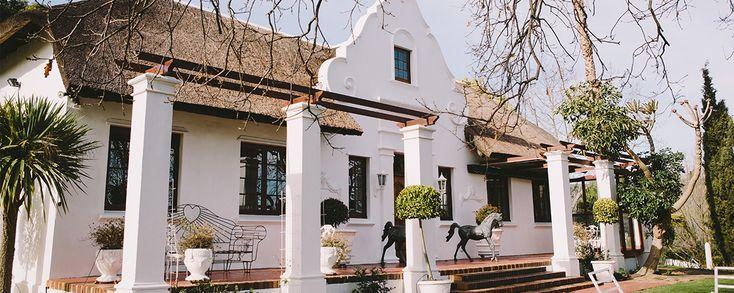 manor house at Saxenburg