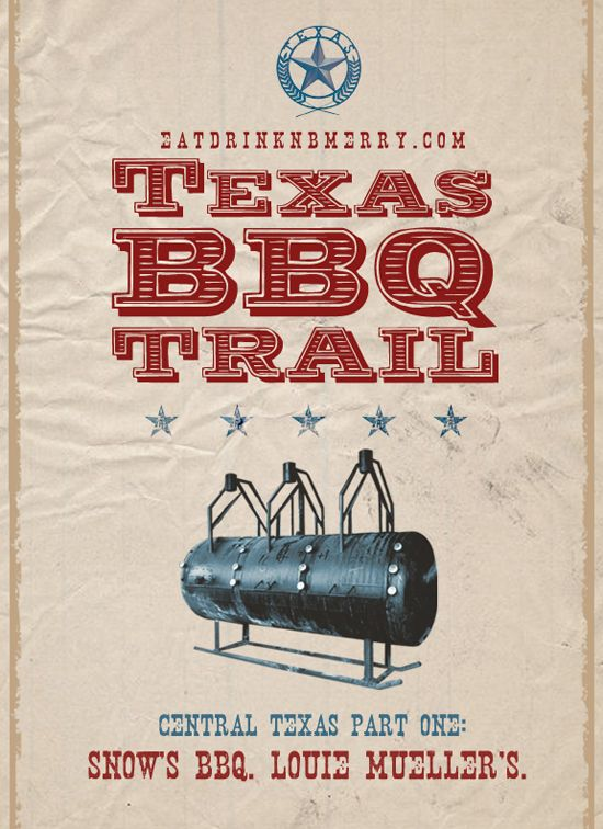 A great write up on Texas BBQ joints around Austin (part I)
