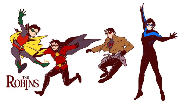 Damian, Tim, Jason, Dick There needs to be a TV series with the batboys. All of them together with Alfred and Daddybats. Yes. That would be wonderful.