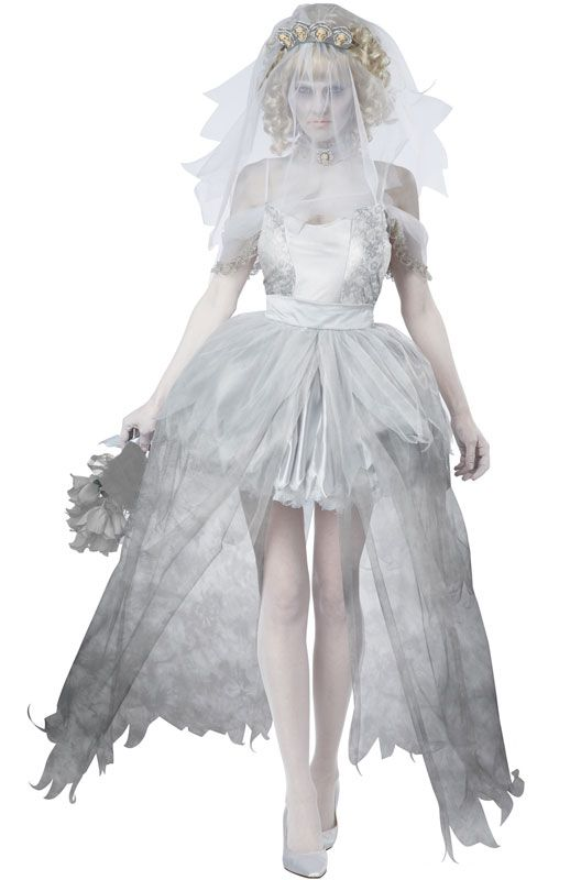 Ghostly Bride Adult Costume #halloween #costumes #ghosts