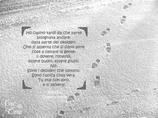 Book: #oceanomare #baricco #quotes