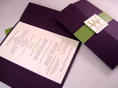 Plum And Gray Wedding With A Hint Of Green. Could Change Out The Green For  Dark Gray Or Slate Color