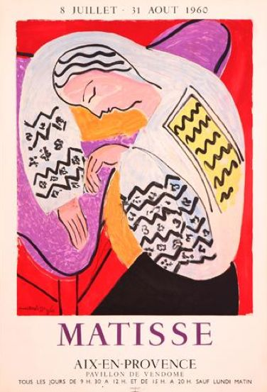 Matisse -- what a fantastic poster.