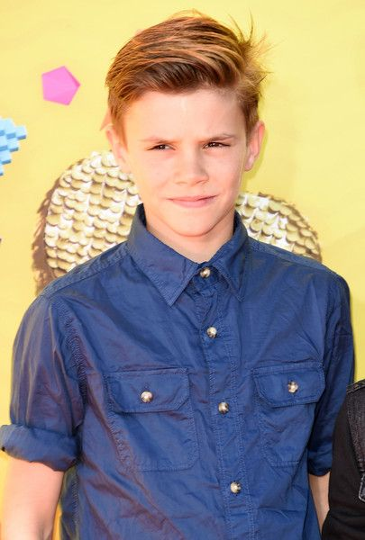 Romeo Beckham Photos: Nickelodeon's 28th Annual Kids' Choice Awards - Arrivals