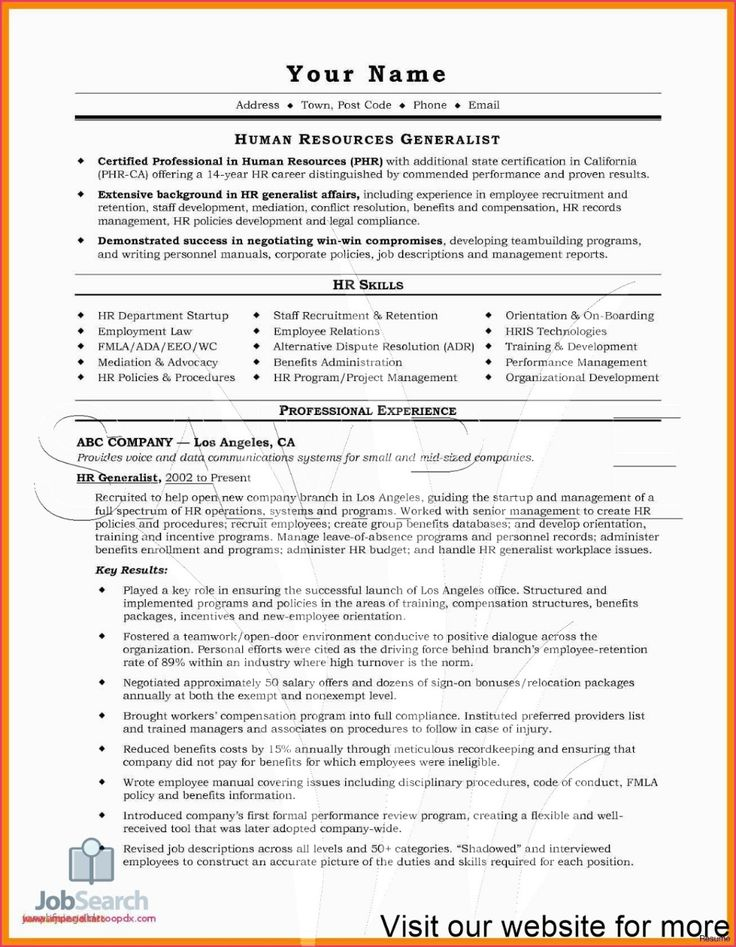 Sample Child Care Resume Objectives Australia 2020