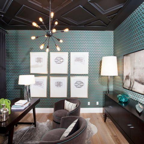 Atmosphere Interior Design Inc. office layout idea