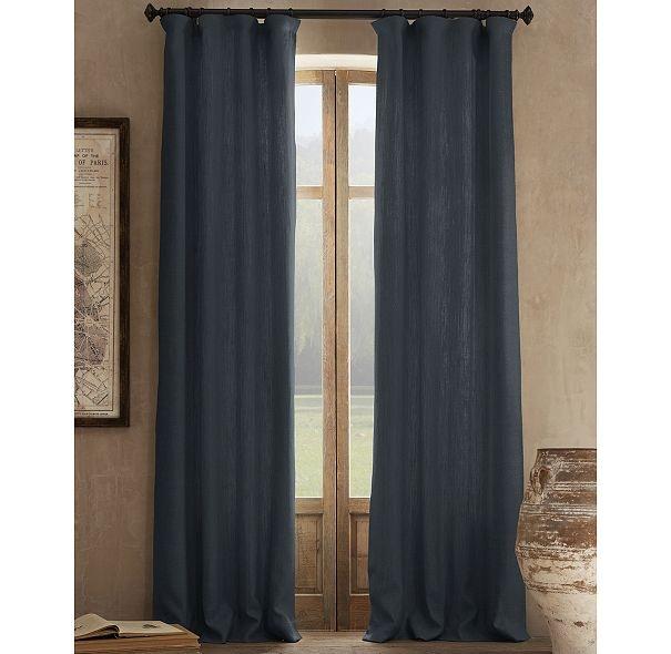 Smokey Blue Linen Curtains For Living Room Resto 159 Ideas 1 Pinterest Linens The O