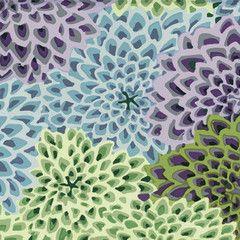 Dahlia Blooms - Succulant