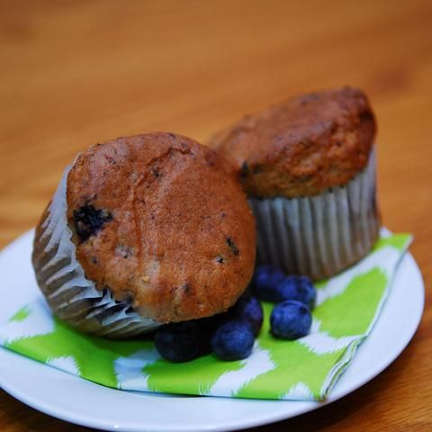 Marvellous Gluten Free Blueberry Muffins from Peartree Bakery in Thunder Bay!