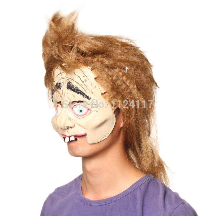 Хэллоуин туши для ресниц маска Horrorble хитрый Латекс маска Карнавал партия маска реалистичные силиконовые смешные маскарадные маски MS0020