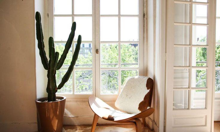 Chaise LCM Eames Appartement Paris Augustin Trapenard
