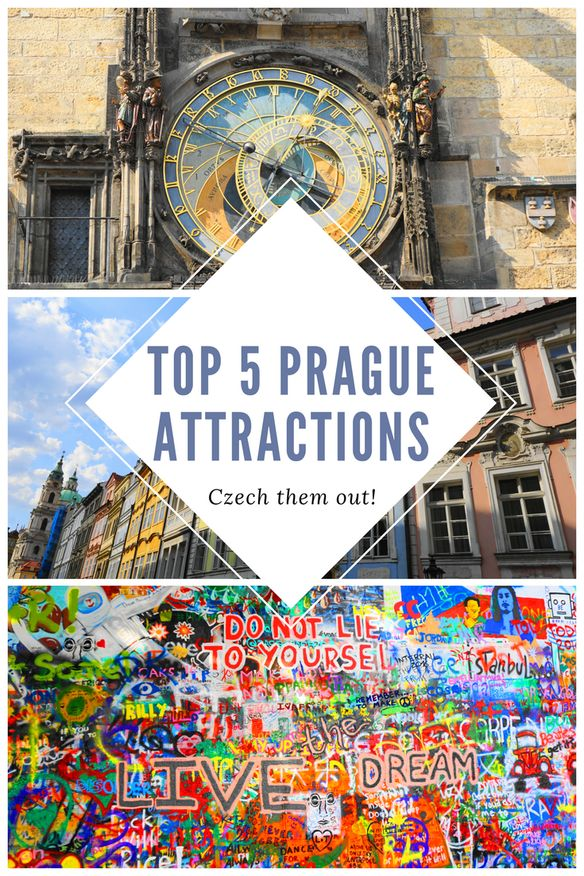 Planning a trip to Prague, Czech Republic? Check out these top 5 tourist attractions that are absolute must-sees for Prague!