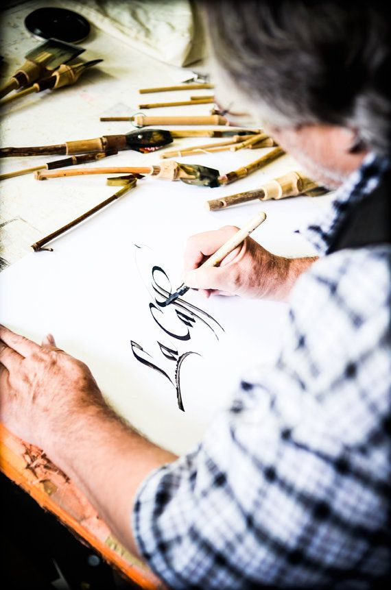 Calligrafia busta nozze di PalaisPapillon su Etsy, $0.30