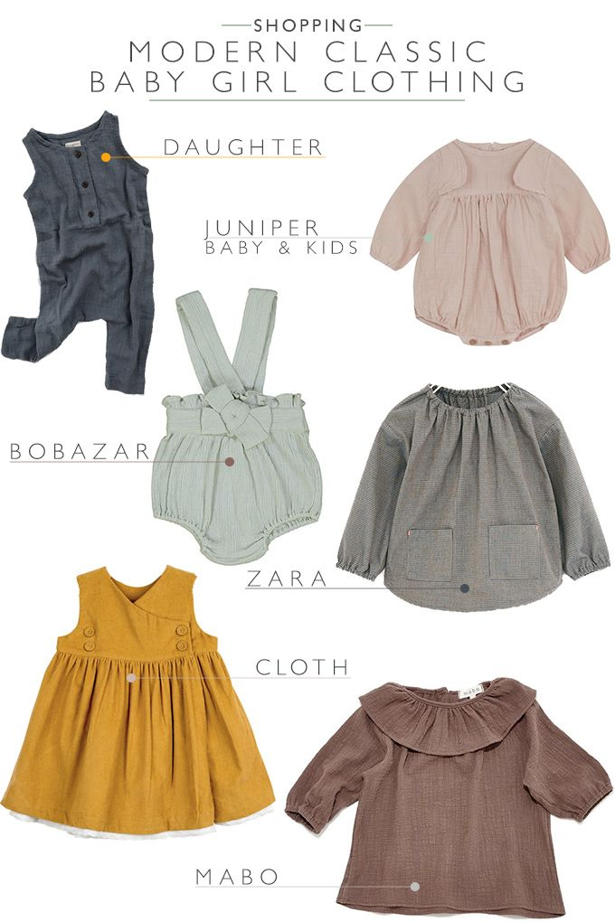 If you love baby clothes with a classic look, check out this collection of the best places to buy modern classic vintage baby girl clothes