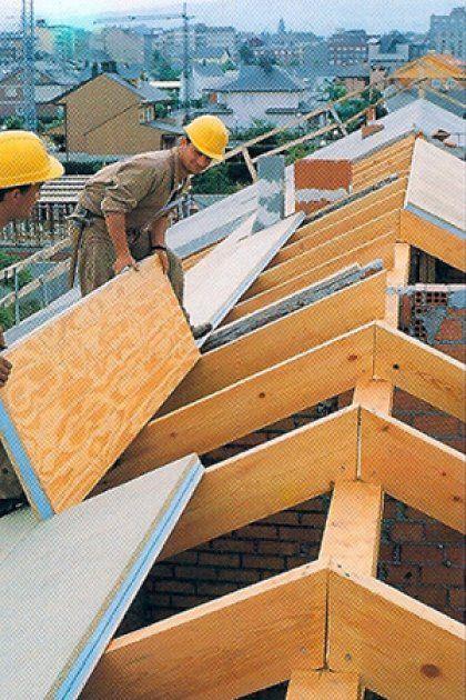 M s de 25 ideas incre bles sobre planos de casas de madera for Tejados de madera precio m2