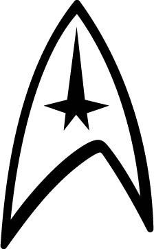 Star Trek Logo. If I were to get this tat, I would want it really really small.