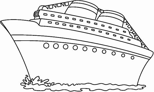 Cruise Ship Coloring Page Awesome Cruise Ship In 2020 Cruise Ship Coloring Pages Super Coloring Pages