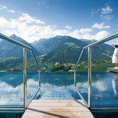 Wasserwelten im Hotel Hohenwart in Schenna bei Meran, Urlaub in Südtirol -