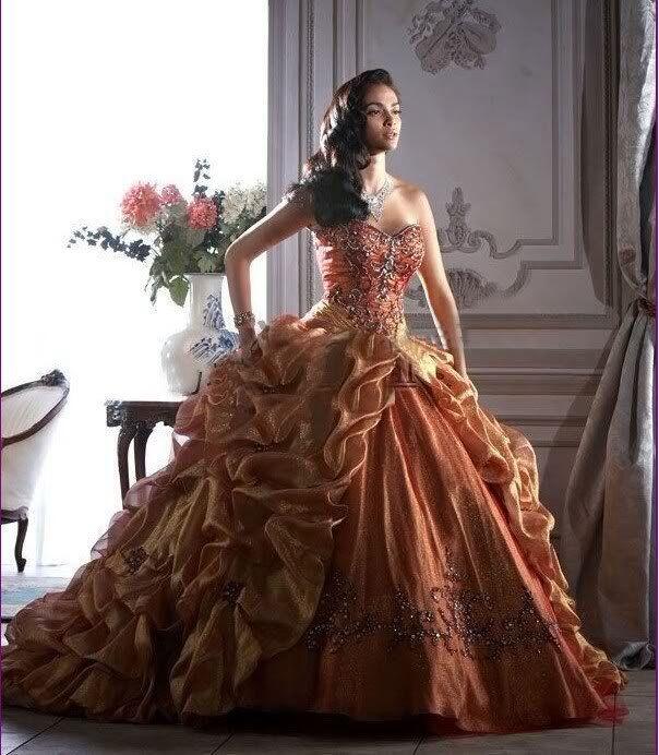 golden masquerade ball gown   Quinceanera Dresses   Pinterest ...