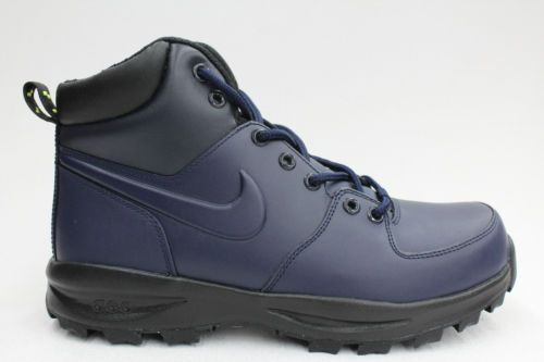 Nike Manoa Acg Navy Blue Voltage Green Leather Mens