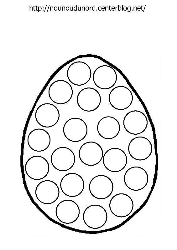 Coloriage oeuf de Pâques à gommettes dessiné par nounoudunord Imprimez le coloriage grand format en fichier PDF cliquez : ici ou .acrobat.com **PÂQUES** Découvrez nos Activités cliquez ...