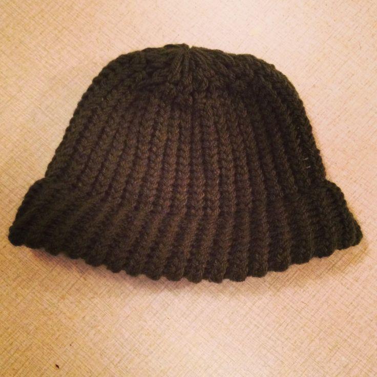 Sticka en mössa med Loom Knitting