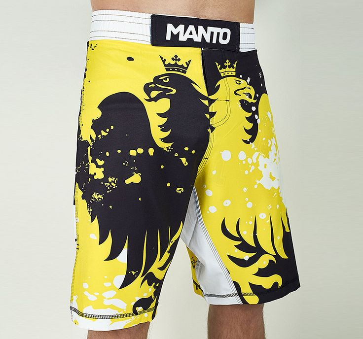 "Manto ""Krazy Bee"" Grappling Shorts"