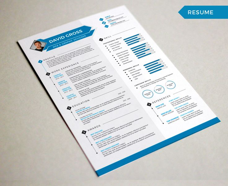Best Resume Showcase Images On   Resume Ideas And