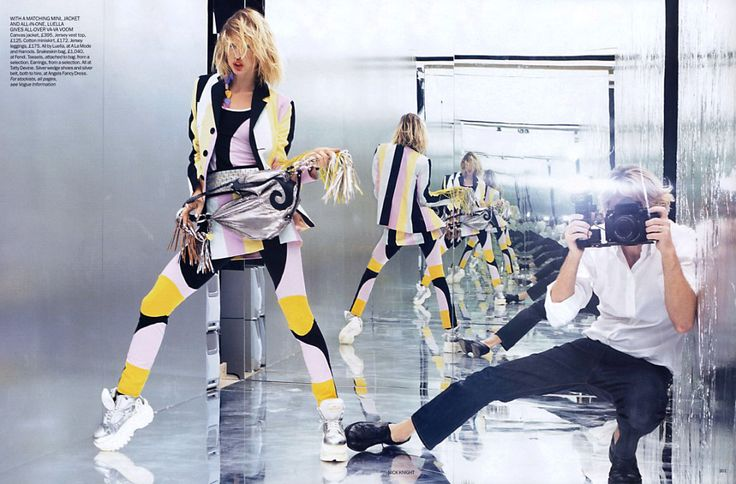 Fotograaf: Nick Knight / Vogue UK March 2003.