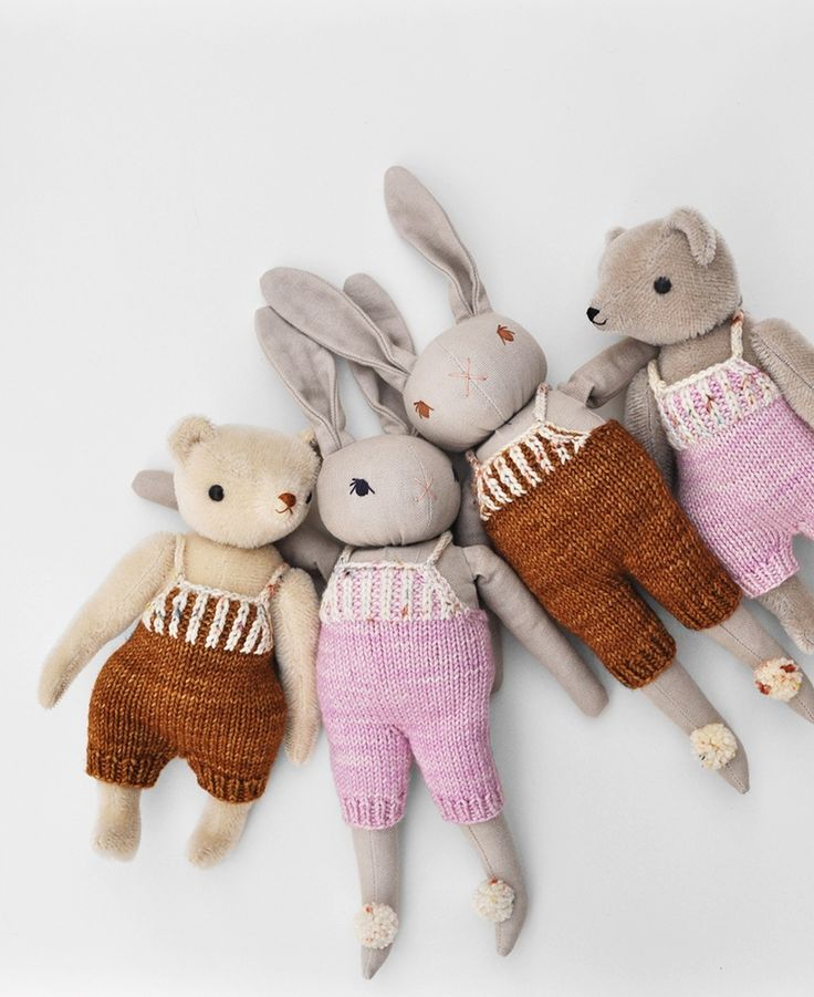 A very Special Collaboration: Polka Dot Club +Misha & Puff Medium Rabbit  ~ Organic Cotton hand dyed with all natural plant dyes