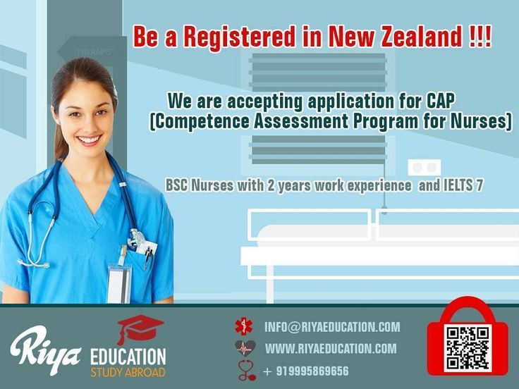 Application invited for New Zealand !!! We are accepting applications for CAP - Competence Assessment Program for Nurses.  Interested candidates can apply through http://riyaeducation.com/enquiry/ or walk into our nearest office http://riyaeducation.com/contact/ for more details.