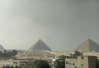 Ägypten - Pyramiden von Gizeh und die Sphinx - Kairo
