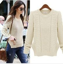 D60421A THE NEW AUTUMN AND WINTER FASHION STREET OUTSIDE THE TOWER SLIM WOOL KNIT SWEATER Best Seller follow this link http://shopingayo.space