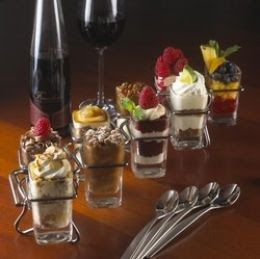 Copycat: Chili's Bar and Grill Dessert Sweet Shots - Key Lime Pie, Red Velvet Cake, Warm Cinnamon Roll, Warm Double Chocolate Fudge Brownie