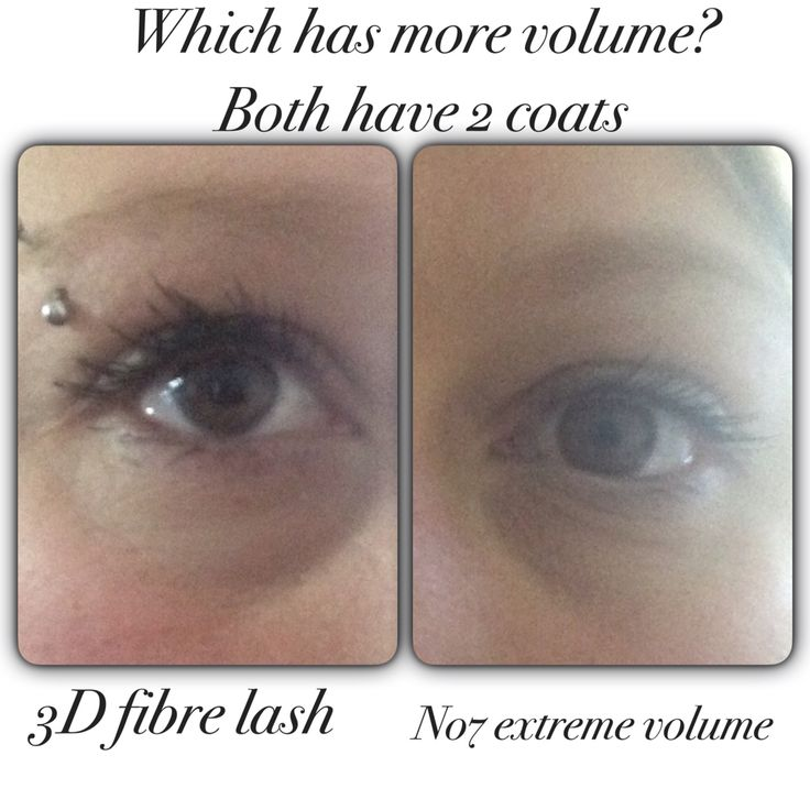 3d fiber lash vs no7 extreme volume. Know which one I love. Www.dazzlingdollsuk.com