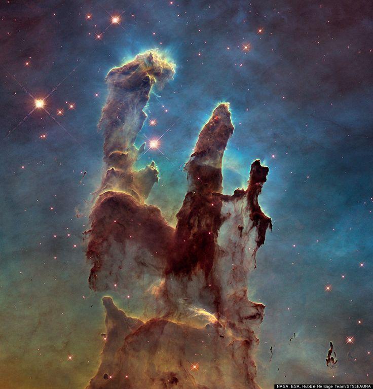 Etonnant univers - Les Piliers de la création