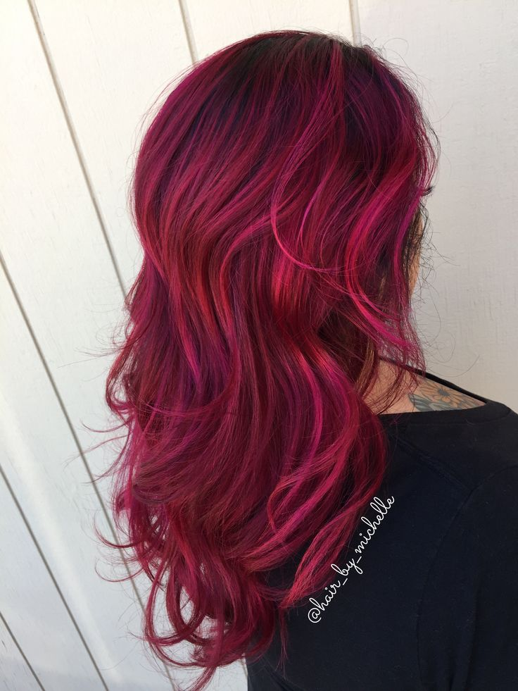 Red Hair Red Balayage Red Hair With Shadow Root Red