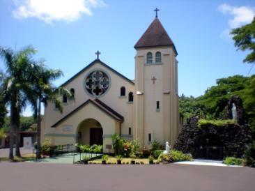 Immaculate Conception Church Kauai